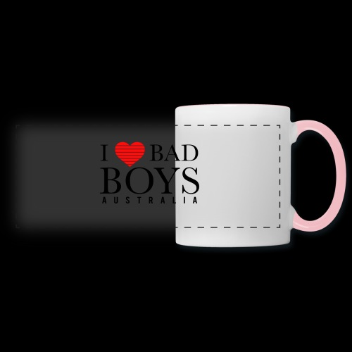 I LOVE BADBOYS - Panoramic Mug