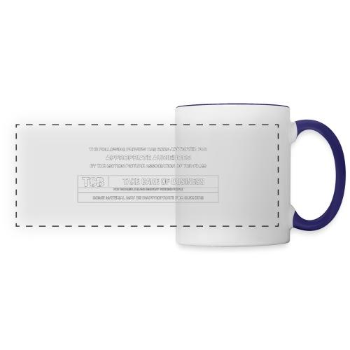 TCB Films Disclamer - Panoramic Mug