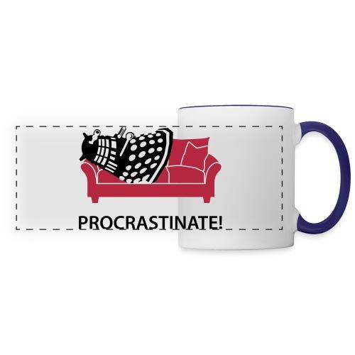 Dalek Procrastinate - Panoramic Mug