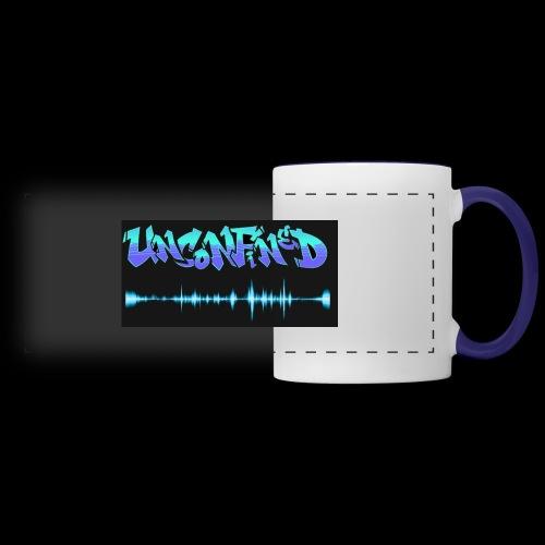 unconfined design1 - Panoramic Mug