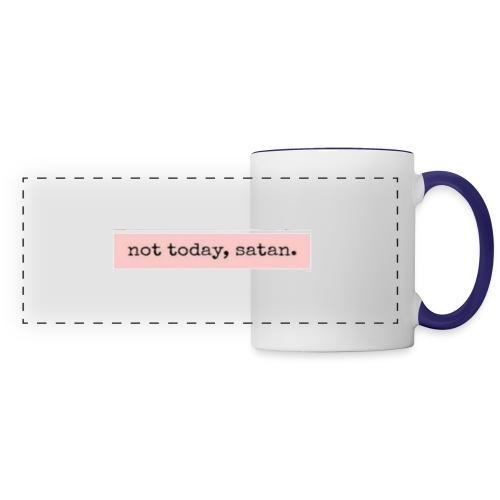 not, today satan clothing and accessories - Panoramic Mug