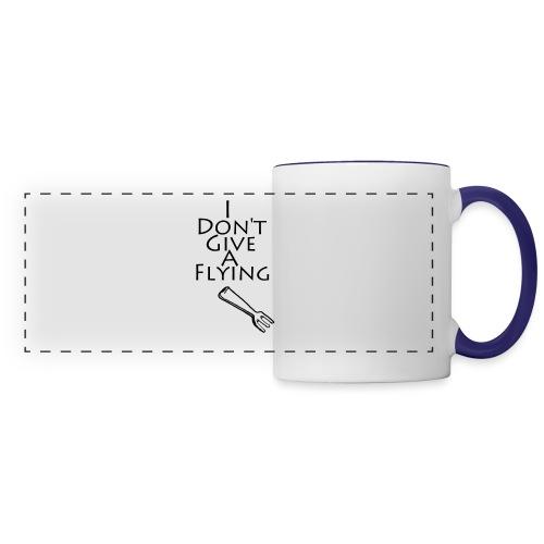 I Don't Give A Flying Fork - Panoramic Mug