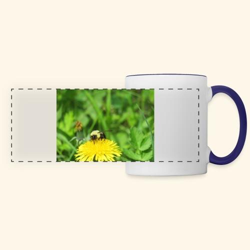 Dandelion Bee - Panoramic Mug