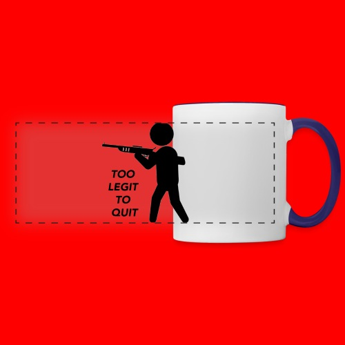 OxyGang: Too Legit To Quit Products - Panoramic Mug