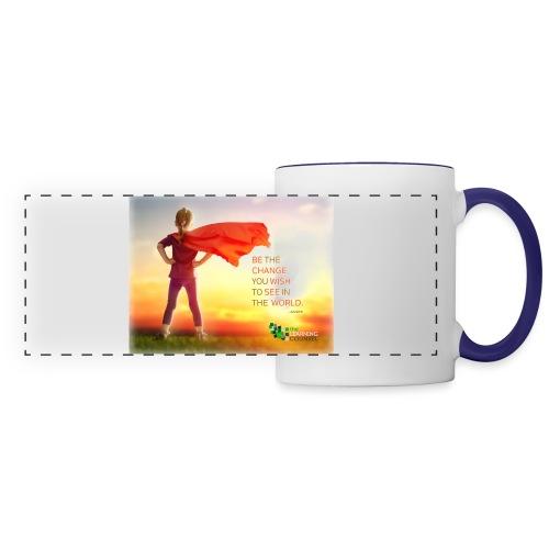 Education Superhero - Panoramic Mug