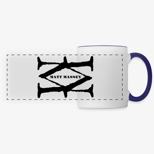 Matt Massey Logo Black - Panoramic Mug