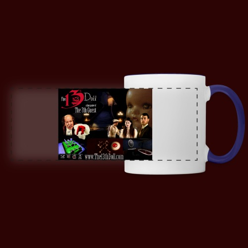 The 13th Doll Cast and Puzzles - Panoramic Mug