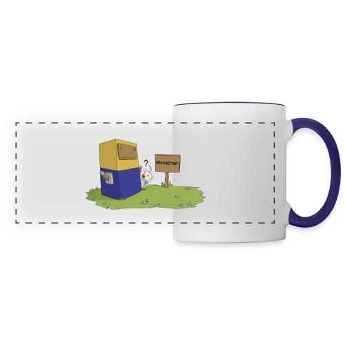 Mini Minion by Seiaeka - Panoramic Mug