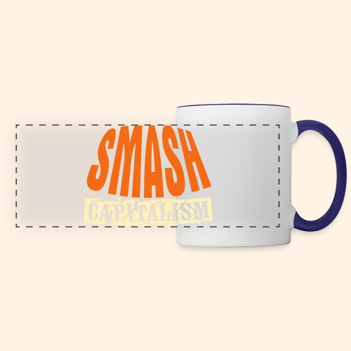 Smash Capitalism - Panoramic Mug