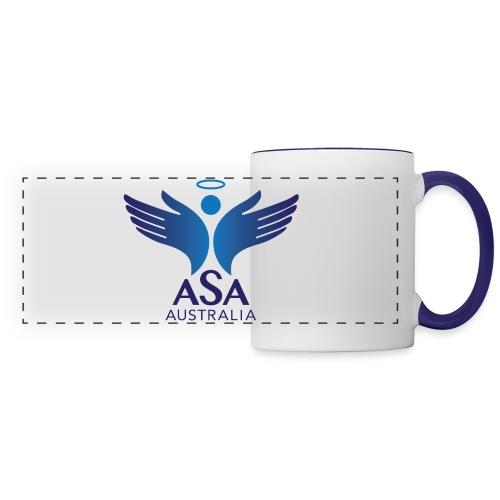 3459 Angelman Logo AUSTRALIA FA CMYK - Panoramic Mug