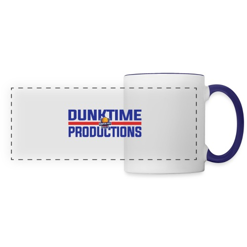 DUNKTIME Retro logo - Panoramic Mug