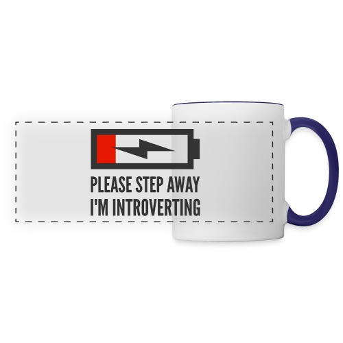 introverting - Panoramic Mug