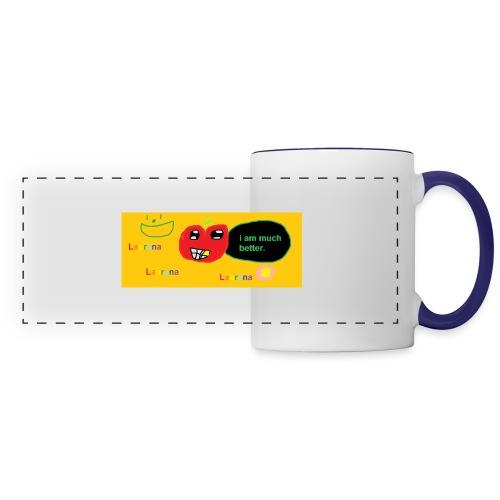 pechy vs apple - Panoramic Mug
