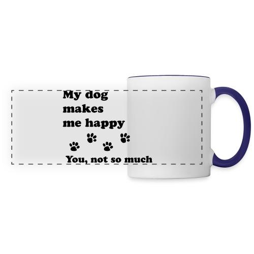 love dog 2 - Panoramic Mug