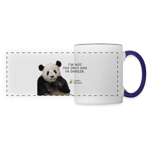 Endangered Pandas - Josiah's Covenant - Panoramic Mug