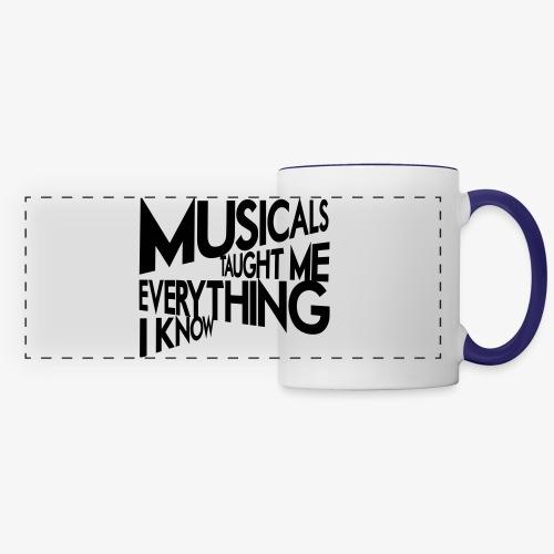 MTMEIK Black Logo - Panoramic Mug