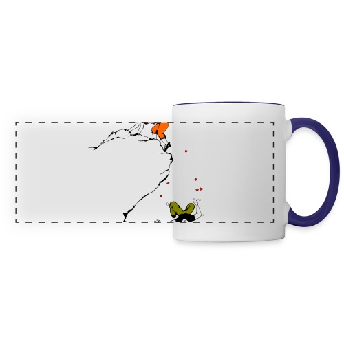 Lady Climber - Panoramic Mug