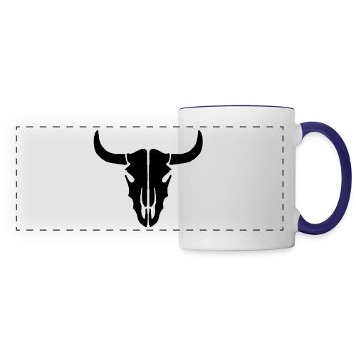 Longhorn skull - Panoramic Mug