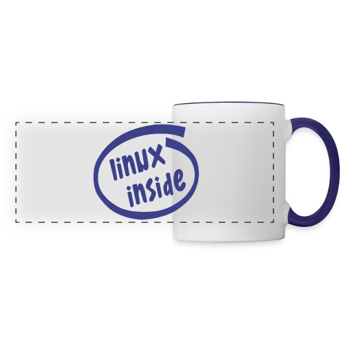 linux inside - Panoramic Mug