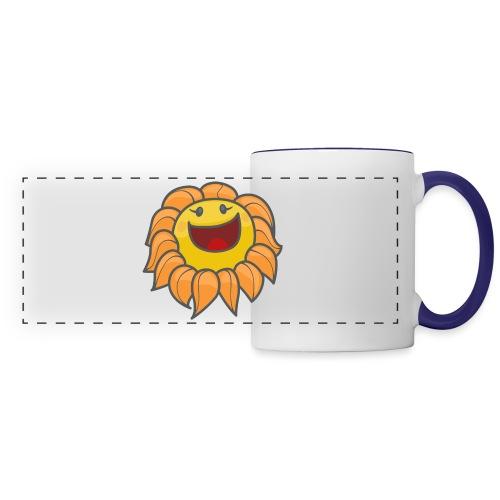 Happy sunflower - Panoramic Mug