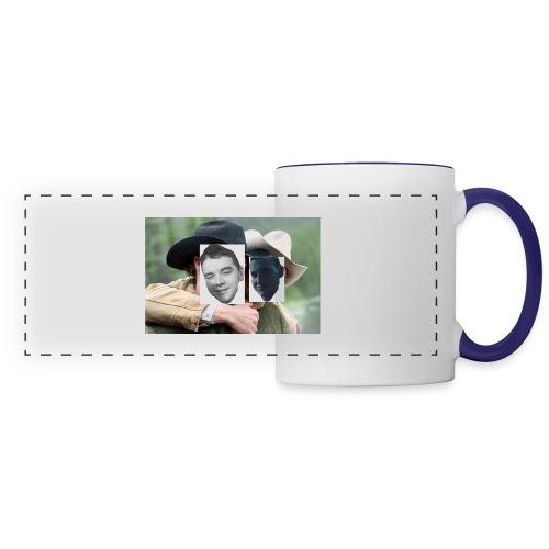 Darien and Curtis Camping Buddies - Panoramic Mug