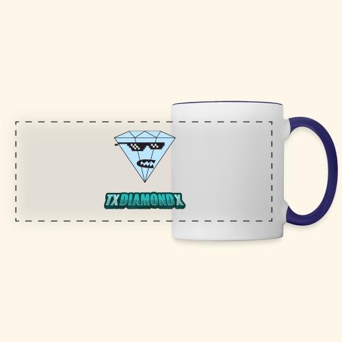 Txdiamondx Diamond Guy Logo - Panoramic Mug