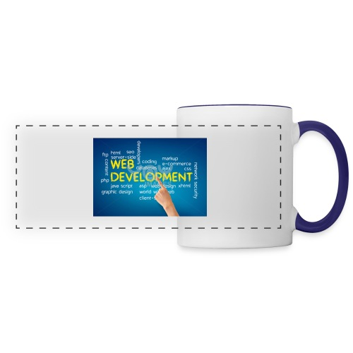 web development design - Panoramic Mug