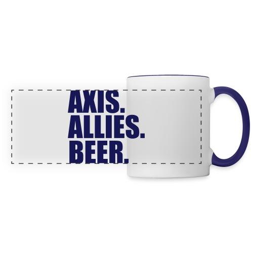 Axis. Allies. Beer. Axis & Allies - Panoramic Mug