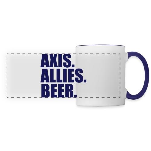 Axis. Allies. Beer. Axis & Allies - Panoramic Mug