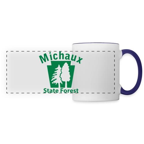 Michaux State Forest Keystone (w/trees) - Panoramic Mug