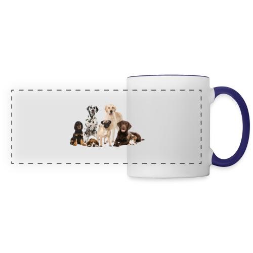 German shepherd puppy dog breed dog - Panoramic Mug