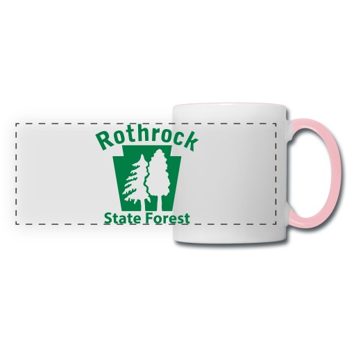 Rothrock State Forest Keystone (w/trees) - Panoramic Mug