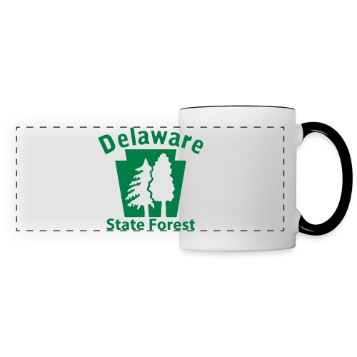 Delaware State Forest Keystone (w/trees) - Panoramic Mug