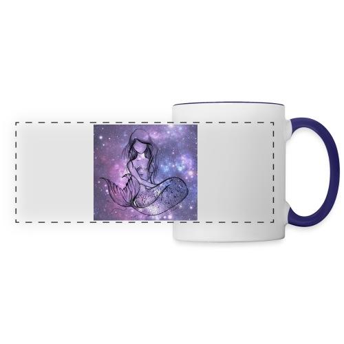 Galaxy Mermaid - Panoramic Mug