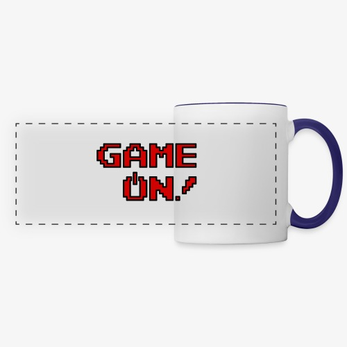 Game On.png - Panoramic Mug