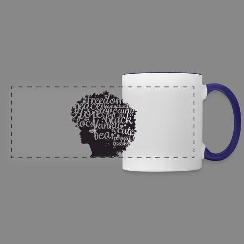 Afro Text II - Panoramic Mug