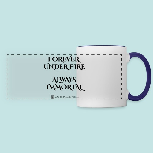 Always Immortal (black) - Panoramic Mug