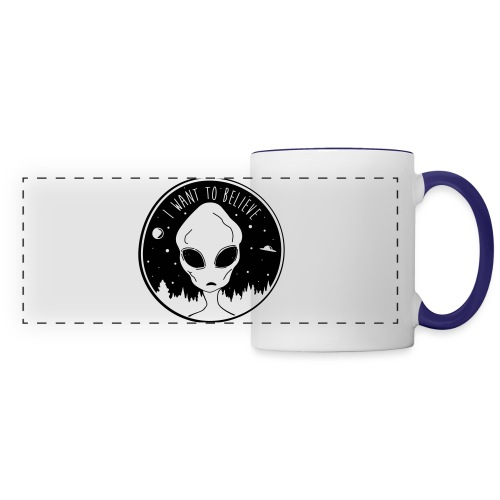 I Want To Believe - Panoramic Mug