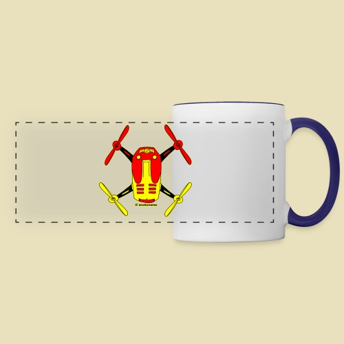 GrisDismation Ongher Droning Out Tshirt - Panoramic Mug