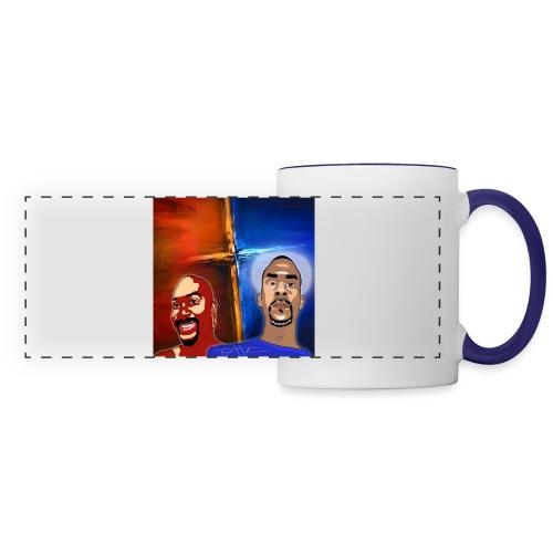pretty tony galaxy 7 edge case - Panoramic Mug