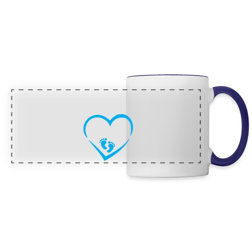 Baby coming soon - Panoramic Mug