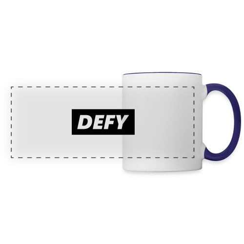 defy logo - Panoramic Mug