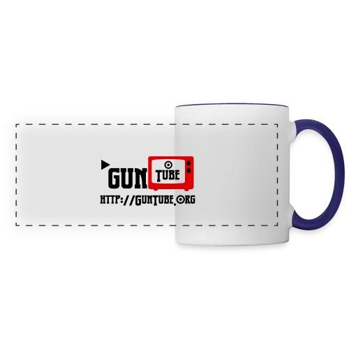 GunTube Shirt with URL - Panoramic Mug