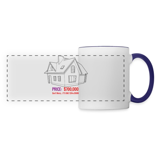Fannie & Freddie Joke - Panoramic Mug