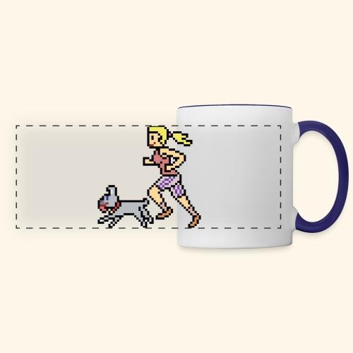RunWithPixel - Panoramic Mug