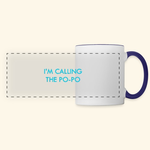 I'M CALLING THE PO-PO | ABBEY HOBBO INSPIRED - Panoramic Mug