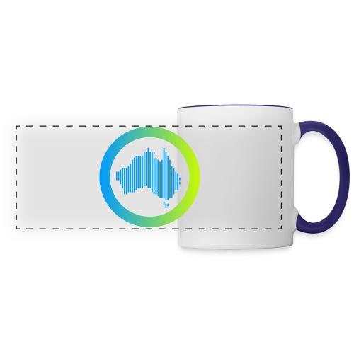 Gradient Symbol Only - Panoramic Mug