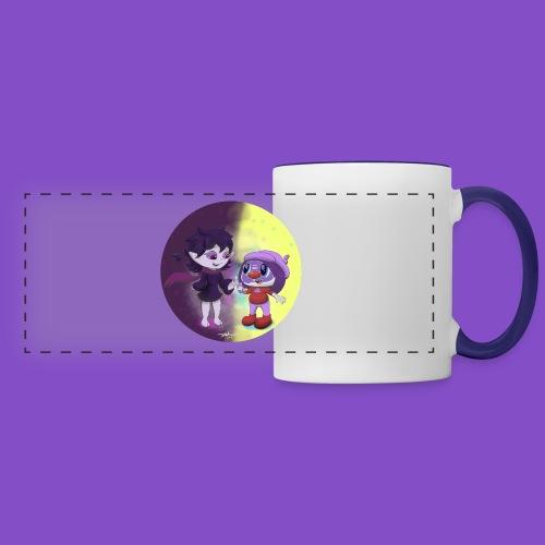 Salem and Mindy - Panoramic Mug