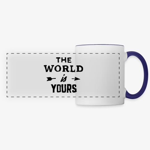 the world - Panoramic Mug