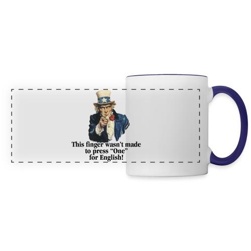 Uncle Sam - Finger - Panoramic Mug
